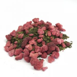 Tasmanian Green and Raspberry loose leaf tea