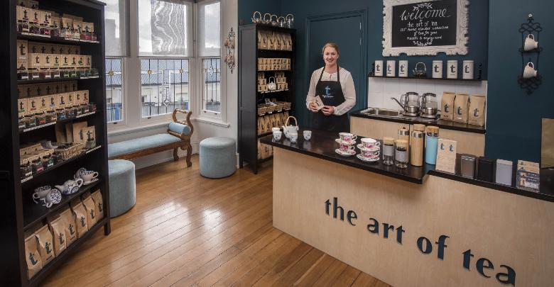 The Art of Tea Battery Point Tasmania