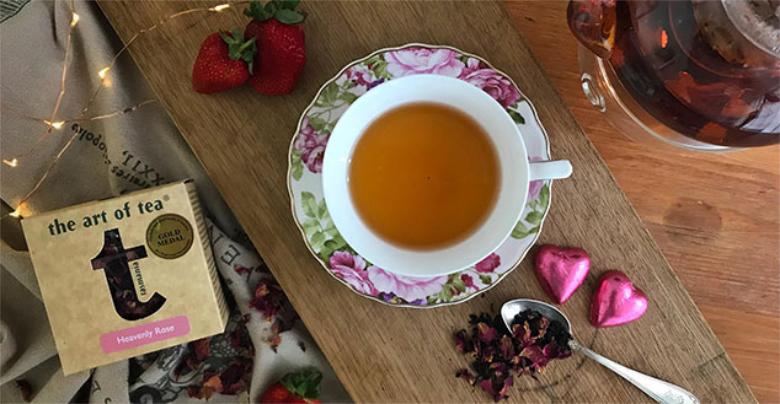 The Art of Tea Heavenly Rose